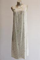 Βαμβακερό ΝΥΧΤΙΚΟ μακρύ αμάνικο φλοραλ. Από φίνα ποπλίνα