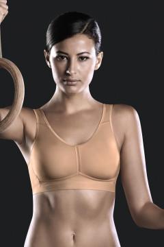 Αθλητικό ΣΟΥΤΙΕΝ ελαφριάς στήριξης χωρίς μπανέλες με ελαστική Coolmax πλάτη