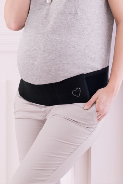 Στυλάτη ΖΩΝΗ ΕΓΚΥΜΟΣΥΝΗΣ με συστημα Velcro. Ανακουφίζει τους πόνους και στηρίζει σωστά