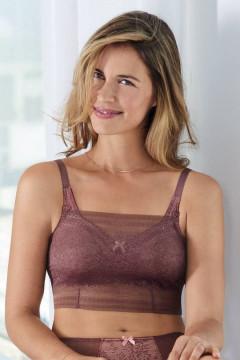 Δαντελένιο ΤΟΠ  φοριέται πάνω απο το σουτιέν και καλύπτει τέλεια το στήθος