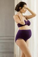 Σουτιέν εγκυμοσύνης χωρίς μπανέλες και χωρίς ραφές. Με δαντέλα στο πίσω μέρος